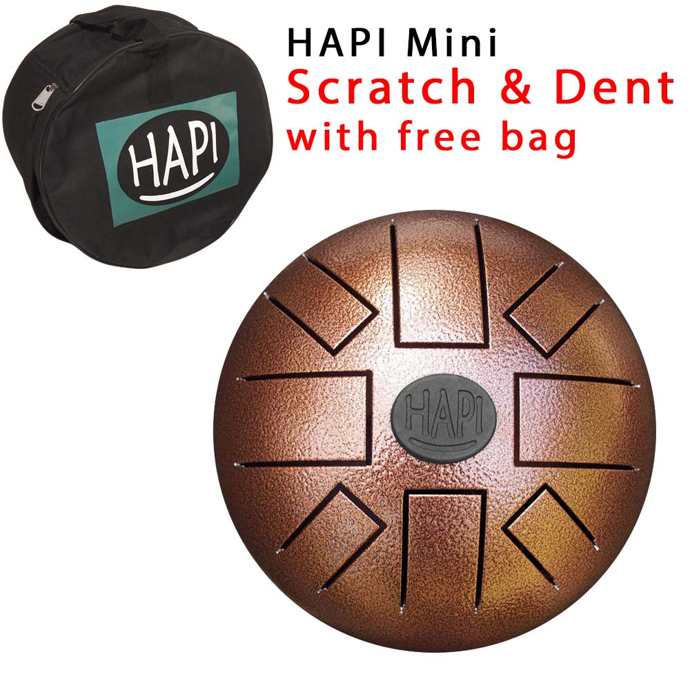 Mini - D Akebono w/bag - AS IS hapi, steel, tongue, drum, percussion