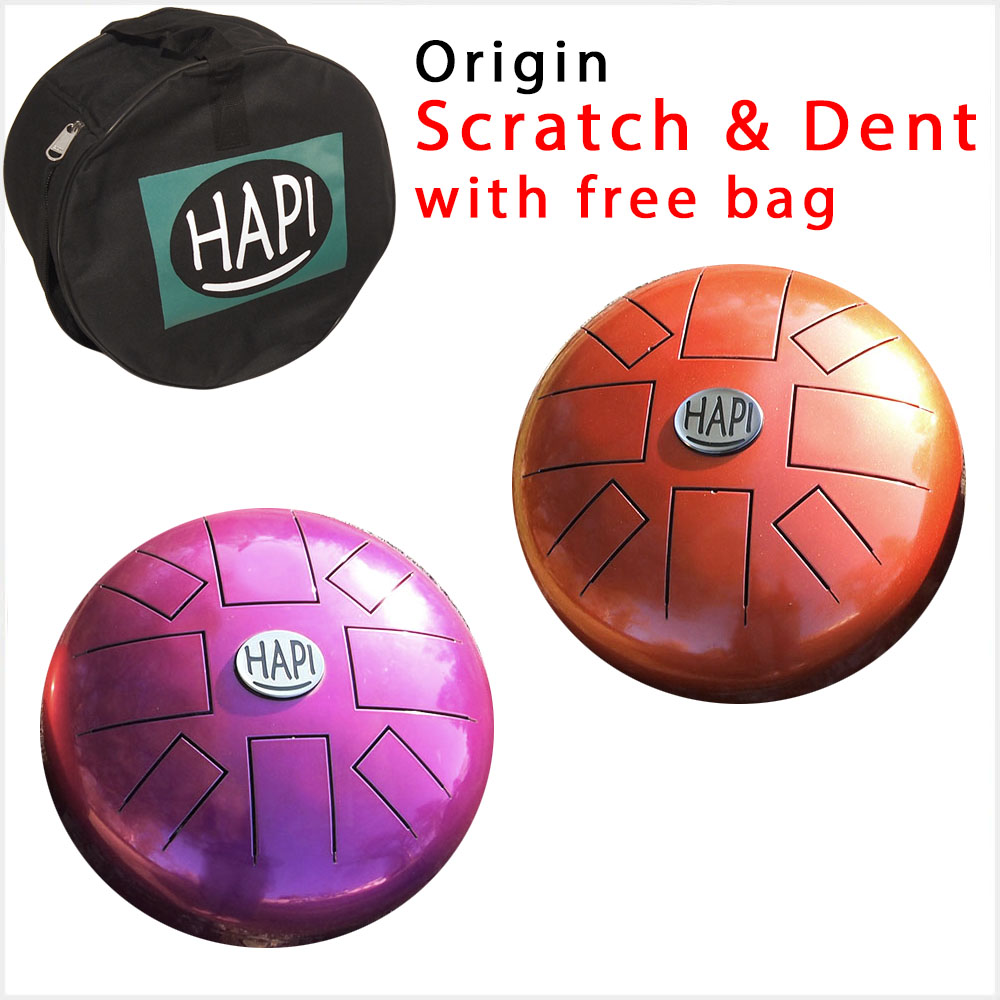 HAPI Steel Tongue Drum Color Origin