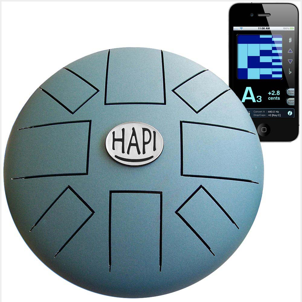 Hapi Steel Tongue Drum Origin Teal Top