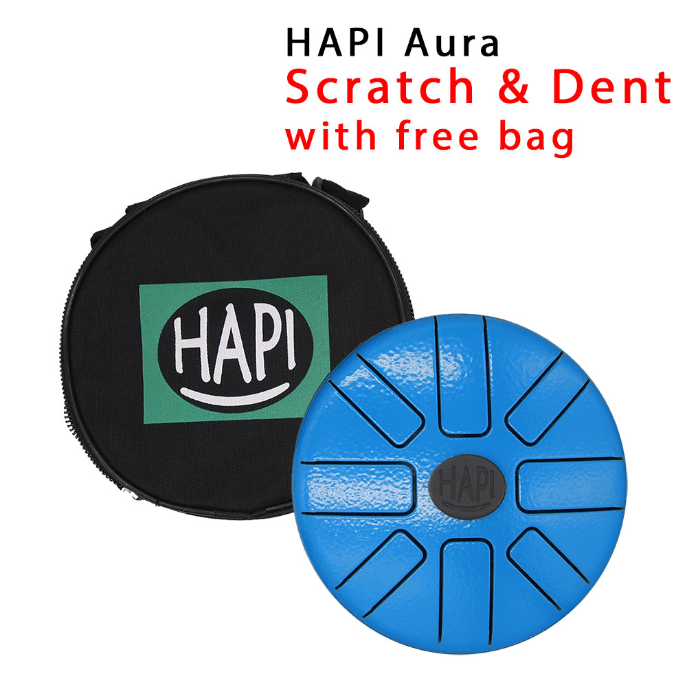 Tini - A Minor w/bag - AS IS hapi, steel, tongue, drum, percussion