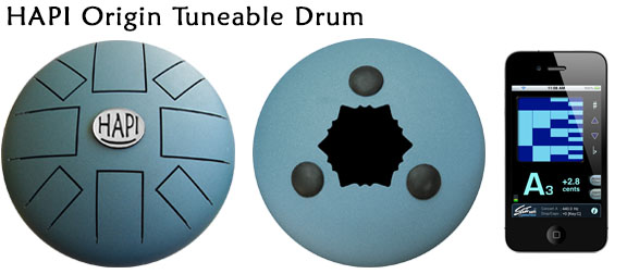 HAPI Steel Tongue Drum Origin Tunable