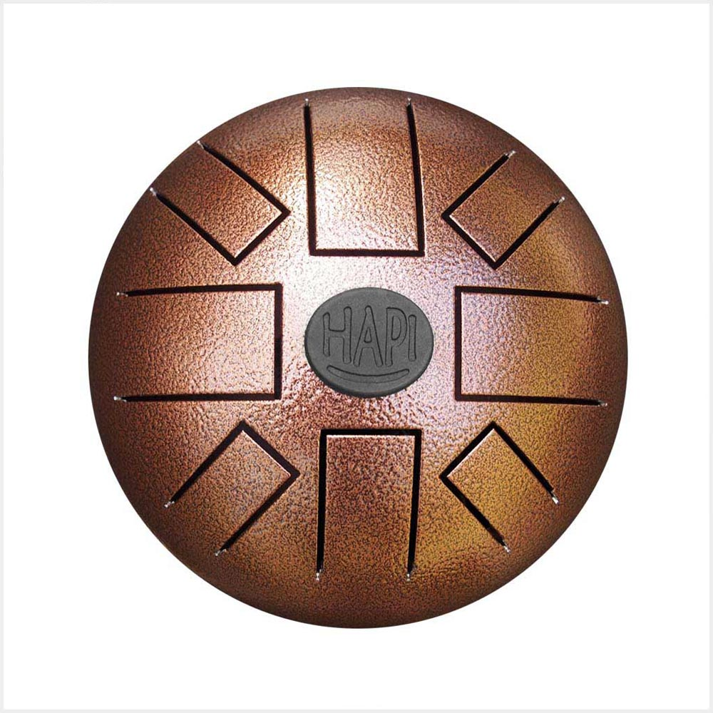 HAPI Steel Tongue Drum Play Along Mini Top