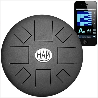 HAPI Steel Tongue Drum Slim Tuneable Top