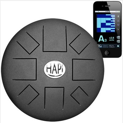Hapi Steel Tongue Drum Slim Top