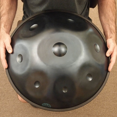 hapi handpan steel drum top